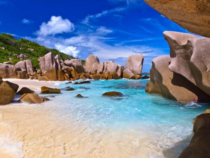 Anse Maron - La Dique - Seychely